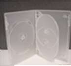 DVD Covers - Holds 5 - 10x (SEMI CLEAR)