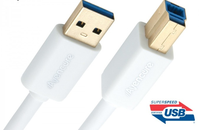 USB 3.0 Cable  3.0m SuperSpeed (Type A-Male to B-Male)